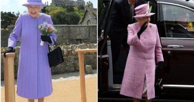 """بالصور..كم مرة ارتدت الملكة إليزابيث نفس """"الحذاء الأسود""""؟"""