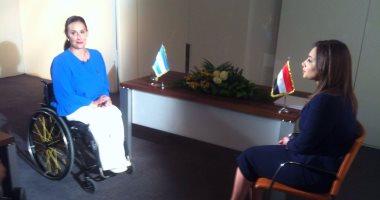 نائبة رئيس الأرجنتين لـ رشا نبيل: نسعى لتعزيز التعاون مع مصر لمكافحة الفساد