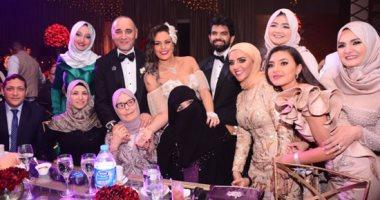 الموسيقار أمير عبد المجيد يحتفل بزفاف ابنته على الإعلامى أحمد الطاهرى