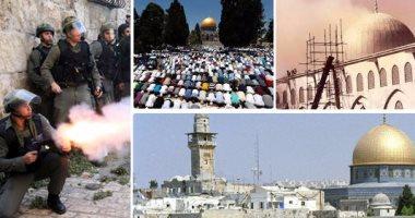 مواجهات عنيفة بين فلسطينيين والشرطة الإسرائيلية فى القدس