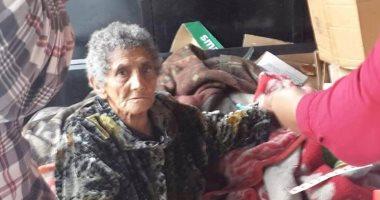 التضامن: فريق التدخل السريع ينجح فى إنقاذ عجوز  قضت 6 عقود بالشارع