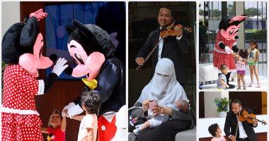 الموسيقى قبل العلاج  مستشفى مصرى يستقبل المرضى بالكمنجات