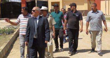 بالصور.. مدير أمن أسوان يتفقد الإنشاءات الجديدة بإدارة قوات الأمن