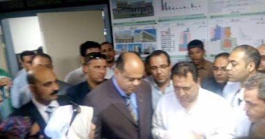 بالصور .. وزير الصحة ومحافظ مطروح يتفقدان مستشفى النجيلة