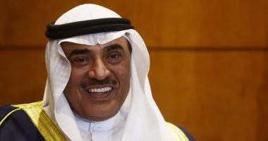 وزير خارجية الكويت يستقبل سفير مصر بمناسبة انتهاء فترة عمله فى البلاد