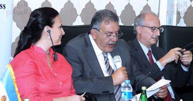 بالصور.. الغرف التجارية:نعمل مع جامعة الدول العربية لإنشاء مراكز لوجستية مع
