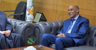 رئيس جامعة الإسكندرية يرسل برقية تهنئة لرئيس هيئة قضايا الدولة