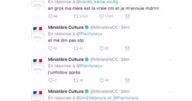 نجل موظفة بالثقافة الفرنسية يغرد شتائم من حساب الوزارة على تويتر: أشعر بالملل
