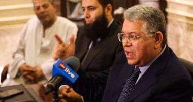وفد لجنة التعليم بمجلس النواب يصل الجامعة الألمانية بالقاهرة