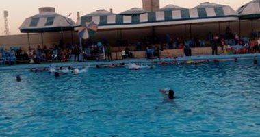 إضراب 17 لاعبا من أبطال الجمهورية فى سباحة غزل المحلة