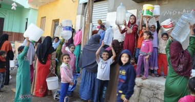 أهالى قرى ابراهيم يشكون نقص مياه الشرب.. والشركة: تعويض المنطقة بالمناوبات