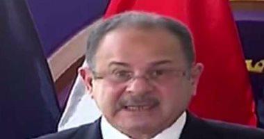 وزير الداخلية اللواء مجدى عبد الغفار
