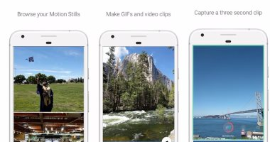 جوجل تطلق تطبيقها Motion Stills لمنصة أندرويد -