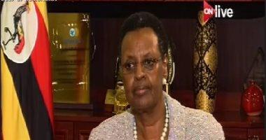 """زوجة رئيس أوغندا لـ""""ON Live"""": نحتاج خبرات المصريين والتعاون بيننا كبير"""
