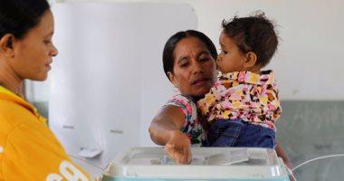 بالصور..بدء التصويت بالانتخابات البرلمانية فى تيمور الشرقية