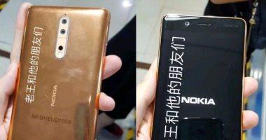 صور مسربة جديدة تكشف عن هاتف Nokia 8 فى اللون النحاسى -