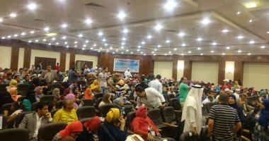 بالصور.. توافد الشباب لحضور جلسة الحوار الوطنى بشرم الشيخ