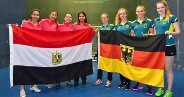 مصر تهزم ألمانيا وتصعد لنصف نهائي بطولة العالم لناشئات الإسكواش