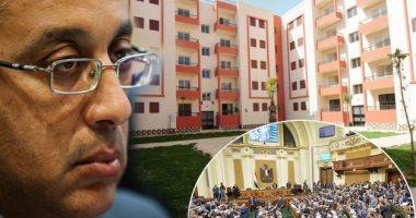 وزير الإسكان :جار تنفيذ 9744 شقة بمشروع الإسكان الاجتماعى بالمنيا