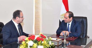 السيسي يزور مقر وزارة الداخلية لمتابعة العملية الشاملة بسيناء وضبط الأمن