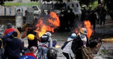 جانب من الاحتجاجات فى فنزويلا _ صورة أرشيفية