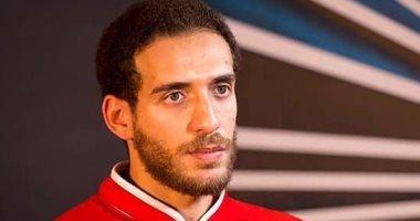 8 غرز فى رأس هشام محمد بعد تعرض حافلة الأهلى للهجوم فى رادس