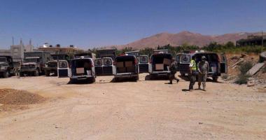 مجموعات مسلحة تستهدف بلدة خان أرنبة بمحافظة القنيطرة السورية