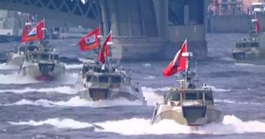 أسطول روسى يراقب مجموعة من سفن الناتو الحربية دخلت البحر الأسود