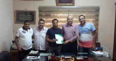 رسمياً.. الإنتاج الحربى يتعاقد مع عبد الرحمن فاروق لمدة 3 مواسم