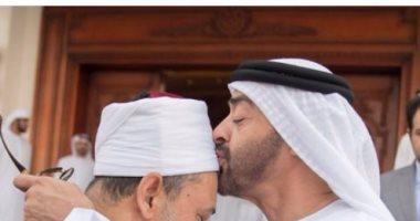 ولى عهد أبو ظبى يبحث مع شيخ الأزهر سبل تعزيز وإعلاء قيم التسامح والتعايش