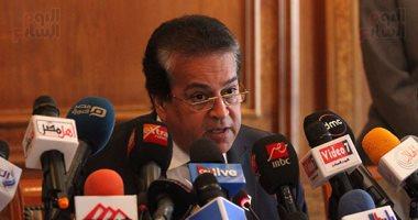 وزير التعليم العالى: نحرص على تيسير الإجراءات على الطلاب الليبيين بمصر