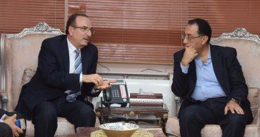 محافظ بنى سويف: بحث تطوير المدينة الجديدة مع ووزير الإسكان قريبًا