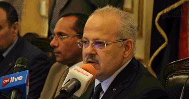 """رئيس جامعة القاهرة: ميكنة الجامعة إليكترونيا وتحويلها لـ""""ذكية"""" مستقبلًا"""