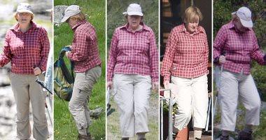 ميركل.. ملكة التقشف ترتدى نفس الملابس خلال عطلاتها منذ 5 سنوات