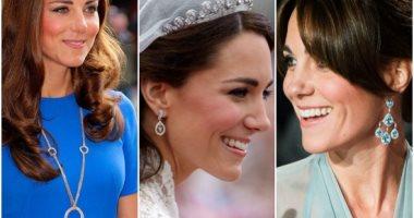 جولة فى صندوق مجوهرات الأميرة كيت على مدار 7 سنين