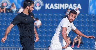 تريزيجيه أساسيا فى مباراة قاسم باشا الأولى بالدورى التركى