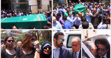 مصر تودع المفكر على السمان من مسجد السيدة نفيسة
