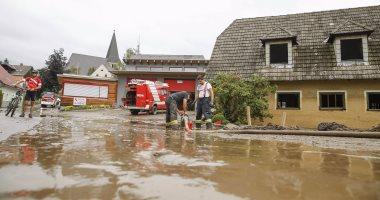 3 ملايين يورو خسائر الفيضانات والعواصف الرعدية بالنمسا فى يوم واحد