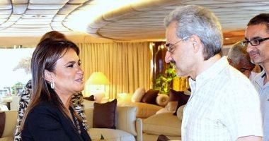 وزيرة الاستثمار: الوليد بن طلال أكد مشاركته فى مشروعات العاصمة الجديدة