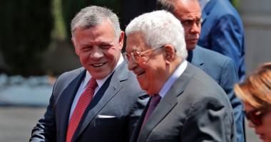 الرئيس الفلسطينى يبحث مع العاهل الأردنى تداعيات قرار ترامب