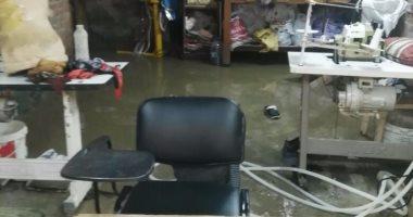 """بالصور.. مياه المجارى تهدد حياة المواطنين فى""""بشتيل"""""""