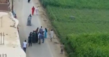 مصرع شخص واصابة 2 فى مشاجرة بين عائلتين فى قرية بالمحلة
