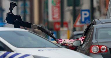 بالصور.. الشرطة البلجيكية تطلق النار على سيارة مفخخة بالعاصمة بروكسل