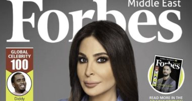 """إليسا تتصدر غلاف """"فوربس"""" الشرق الأوسط عن قائمة أهم 100 نجم بالعالم العربى"""