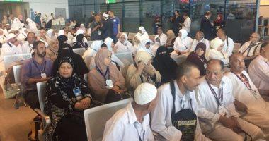 مغادرة 600 حاج من حجاج جمعيات التضامن الاجتماعى إلى المدينة المنورة -