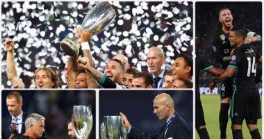 ريال مدريد يتوج بكأس السوبر على حساب مانشستر يونايتد