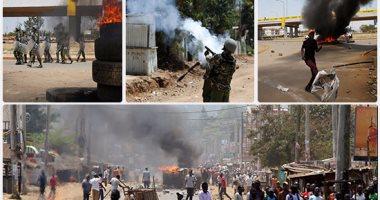اشتباكات عنيفة بين شرطة كينيا ومحتجين على تزوير الانتخابات الرئاسية