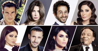 """عمرو دياب يحتل المركز الأول فى قائمة """"فوربس"""" لأهم 100 شخصية عربية"""