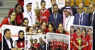 مصر تتوج بلقب البطولة العربية لسيدات السلة