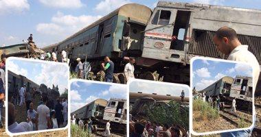 بيان لـ الصحة : 84 مصابا فى حادث قطار الإسكندرية و20 حالة وفاة  -